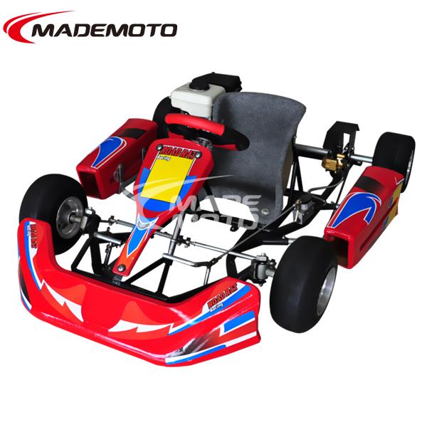 4 Troke 24HP Dry Clutch 90cc Racing Go Kart For Kids