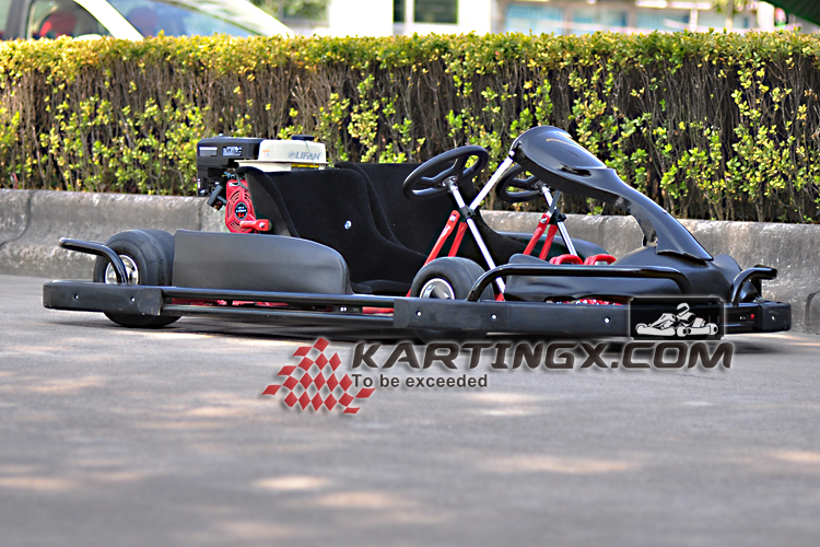 Double/Two Seat Adult Racing Go kart for two person